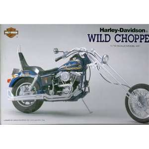 Harley Davidson 1/12 Scale Motorcycle Kit Wild Chopper