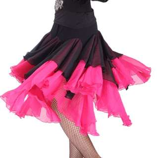 NEW Latin salsa tango Cha cha Ballroom Dance Dress #S8045 skirt