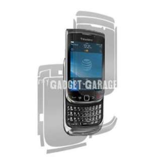 auction included clear full body smarttouch protector for blackberry