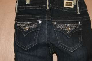 Miss Chic Jeans**     Rhinestone Flap   1182C