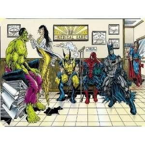 Iron Man Tron Marvel Comics Mouse Pad