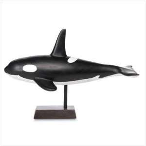 Ceramic Orca Killer Whale Ocean Collectible Figurine