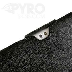 Samsung Galaxy Tab 10.1 Black Leather Folio CLIP Case