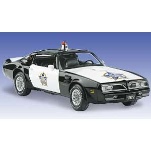 2004 Franklin Mint Police Car   1977 Pontiac Trans Am Everything Else