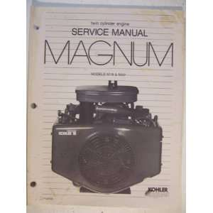Service Manual Twin Cylinder Engine Models M18 & M20: Kohler Co: Books