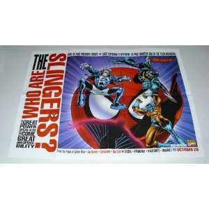 1998 Marvel Comics Spider man Slingers 24 by 18 Inch