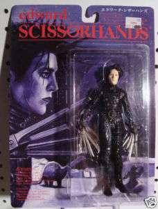 Edward Scissorhands Johnny Depp Action Figure RARE