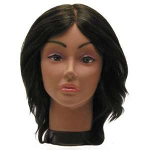 Hair Art Afro Mannequin 12 Female With Straight Hair