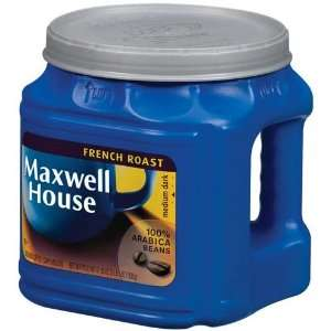 Maxwell House Coffee French Roast Ground Medium Dark   6 Pack