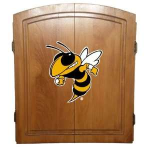 Tech Officially Licensed College Dart Board Cabinet