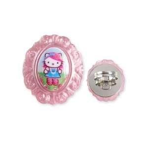 Tarina Tarantino Hello Kitty Pink Head Portrait Baroque Ring   Pink