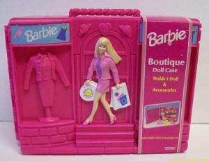 Barbie Pink Wardrobe Clothes Doll Case 2000 NEW