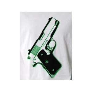 Colt Gun Pistol   Pop Art Graphic T shirt (Mens M