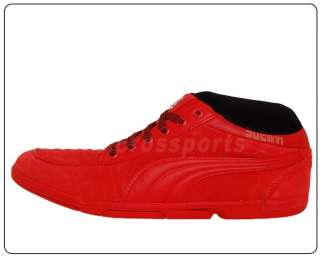 Puma 65CC Ducati Risk Red Motorcycle 2011 Classic Shoes