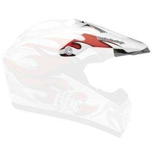 KBC Visor for Super X Helmet     /Air Surf Red: Automotive