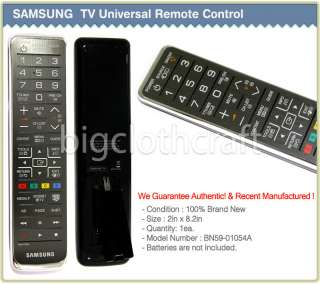 Samsung 3D TV Remote Control BN59 01054A PLASMA/LCD/LED SMART