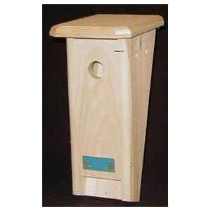 Slant Front Bluebird Bird House Nesting Box Patio, Lawn & Garden