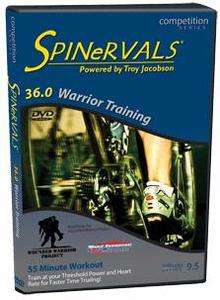 Spinervals DVD Competition Series 36.0   Warrior Training