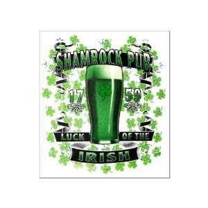 Large Poster Shamrock Pub Luck of the Irish 1759 St Patricks Day Four
