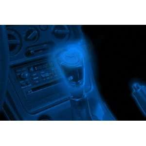 Light Up Blue Neon Car Automobile Gear Shifter Knob   For