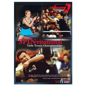 Killerspin Table Tennis SPINvitational DVD