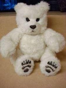 FurReal 2004 Tiger Electronics White Baby Bear Coos