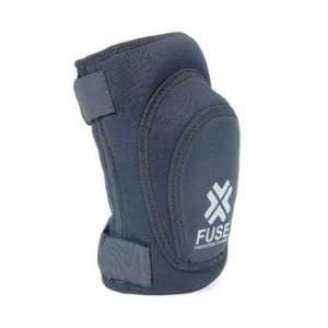 Fuse Original Slim Gasket Knee Pad   Small, Black