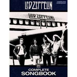 Led Zeppelin Complete Songbook Led Zeppelin (COP) Books