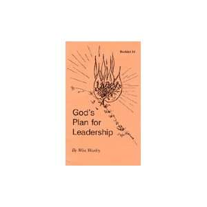 Plan for Leadership (Booklet # 14) (9781930275256) Win Worley Books