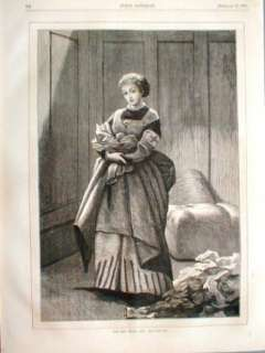 1871 Red Cross Nurse Medical Bandages Angel Of Mercy