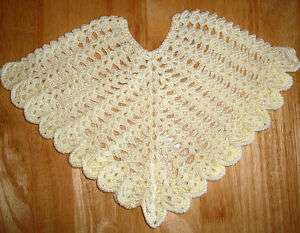 How To Crochet A Baby Poncho