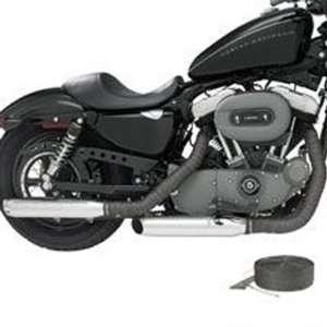 Harley Davidson Screamin Eagle Exhaust Wrap Kit Black/Midnight Gray