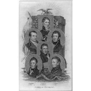 Generals,Dearborn,Scott,Jackson,Harrison,Brown,Pike