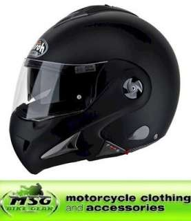 AIROH MATHISSE RS X FLIP FRONT MOTORCYCLE HELMET XL MATT BLACK