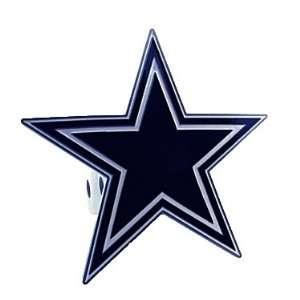 NFL Large Logo Trailer Hitch Cover   Dallas Cowboys