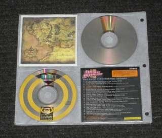 New 528 Disc Black Diamond CD DVD Metal 3 Ring Storage Wallet Binder