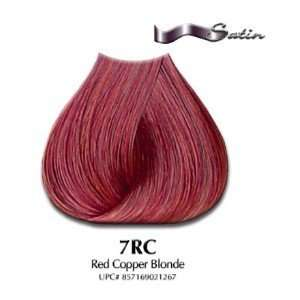 7RC Red Copper Blonde   Satin Hair Color with Aloe Vera
