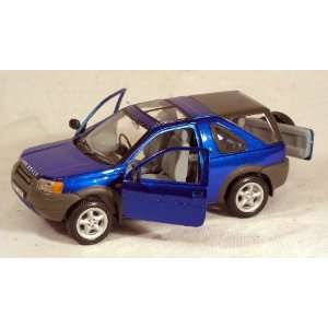 Land Rover Freelander 124 Scale Car ~ Blue Toys & Games