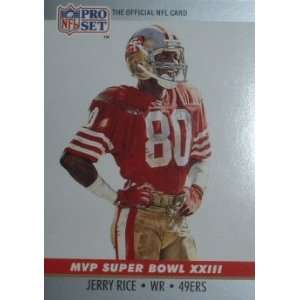 23 Jerry Rice San Francisco 49ers (Football Ca Sports & Outdoors