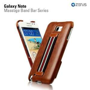 SAMSUNG Galaxy Note Leather Case Masstige Leather Bar Series   Dark