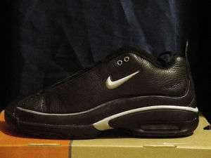 RARE Nike Mens AIR FORCE Authentic Black/Silver Sz 7.5