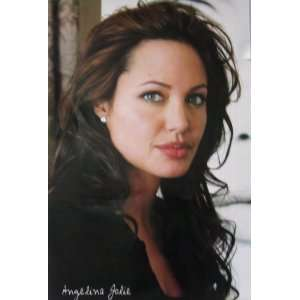 Angelina Jolie (Face) Movie Poster Print   27 X 40 Home