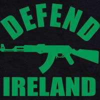 DEFEND IRELAND IRISH T Shirt ST PATRICKS SHILLELAGH SM