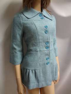 NWT ANTHROPOLOGIE 60s PEACOAT COATS TWO JACKETS LOT BLUE GREEN RETAIL