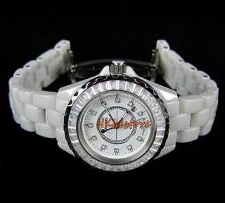 Ceramic White Womens High Quality Quartz Wrist Watch