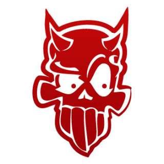 Helmet Decal Sticker Skull Devil Demon Car Window ZE533