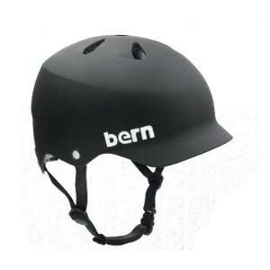 Bern Watts Hard Hat Helmet   Small   Summer Matte Black