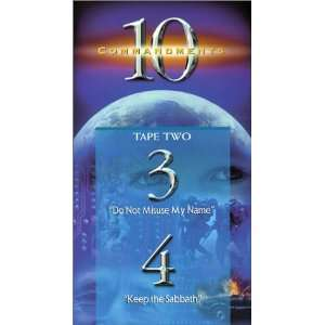 Ten Commandments 3 & 4 [VHS] Adrian Snell Movies & TV