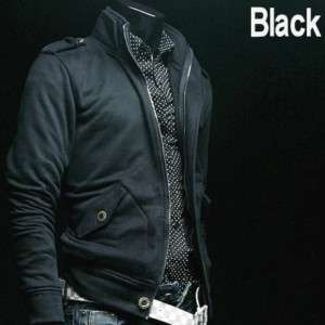 SWM Designer New Mens Military Jacket Coat Black S0863