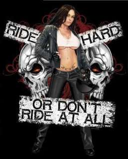 Ride Hard or Dont Ride SS/LS T Shirts Biker Motorcycle